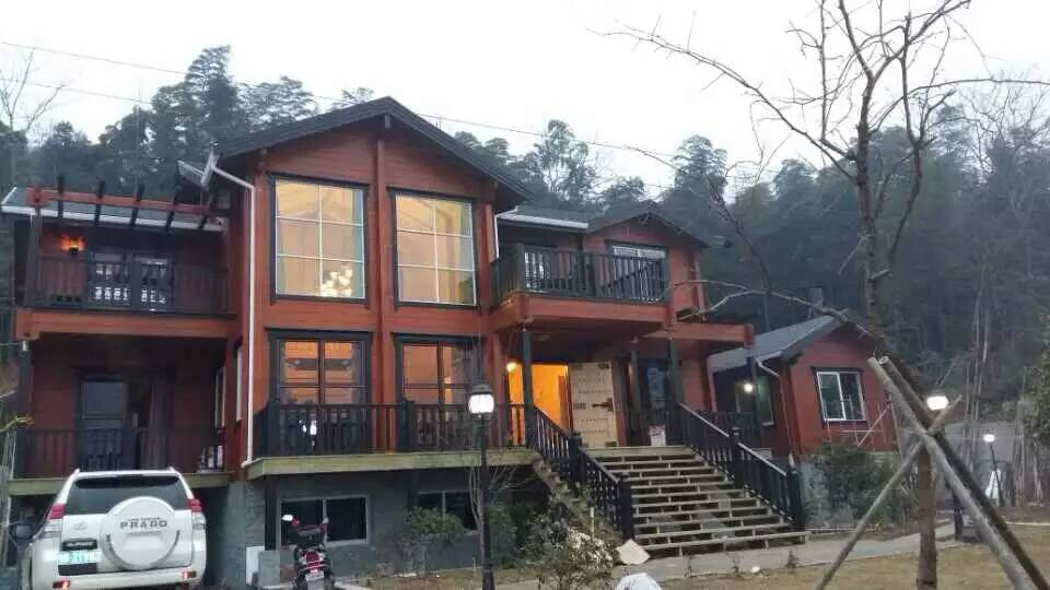 防腐木屋—木结构房屋是如何设计的?