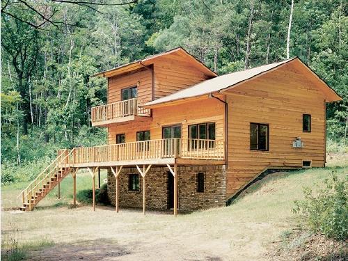 外国木结构建筑